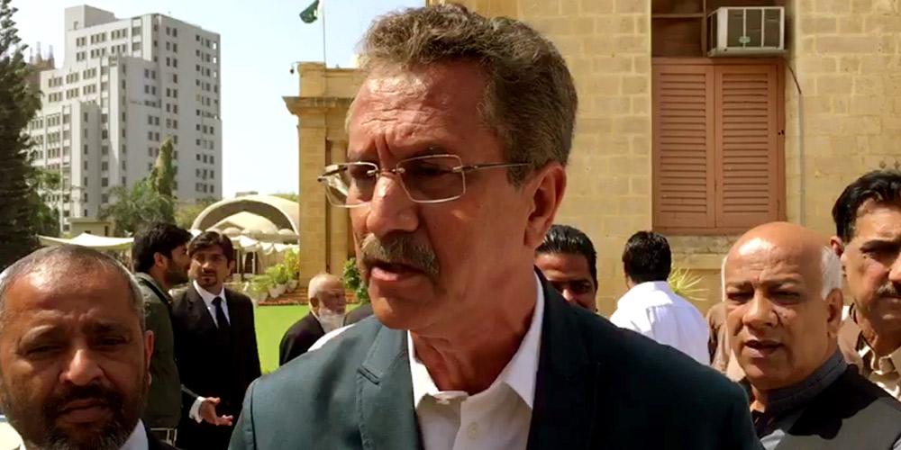 mayor karachi in press club