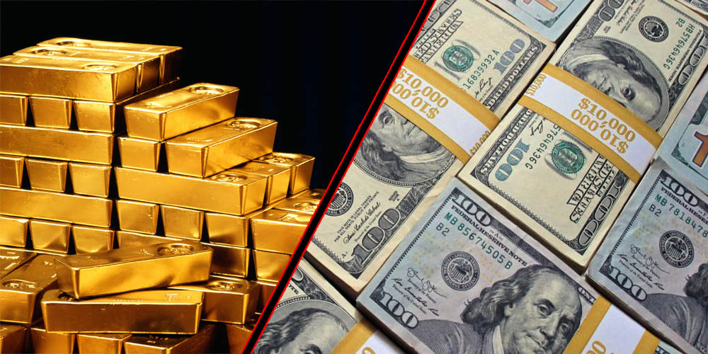 Gold and Dollar price increased
