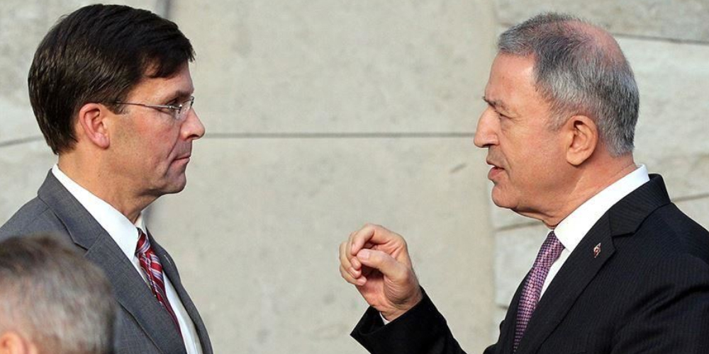 turkey and usa defence minister