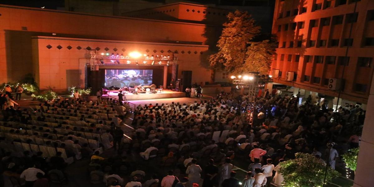 آرٹس کونسل آف پاکستان کراچی کی جانب سے عالمی محفل مسالمہ کا انعقاد thumbnail